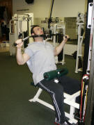 back strength training : lat pull down