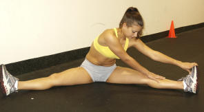 back care, stretchning to prevent injury