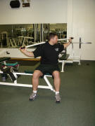 back strength training : twists